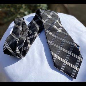 """NW Bugatti 💯 Pure Silk Tie, Sz 58""""L and 3.5"""" wide"""
